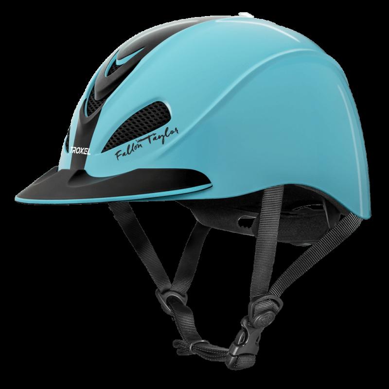 Fallon Taylor Turquoise Racer Helmet