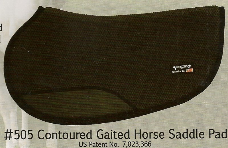 #505 Tacky-Tack Contoured Gaited Horse Saddle Pad
