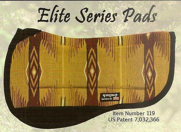 Tacky-Tack Elite Round Skirt Trail Pad