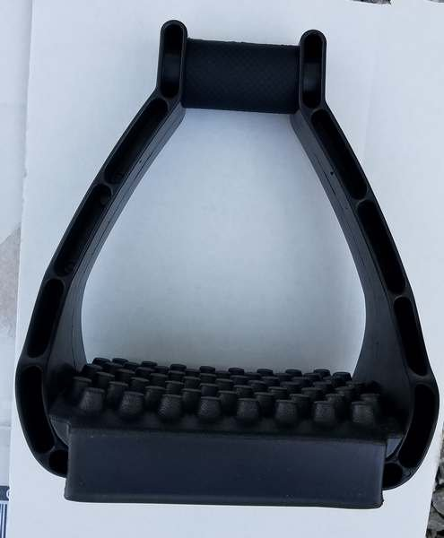 EZ Ride Stirrups with Slip on Pad no cage