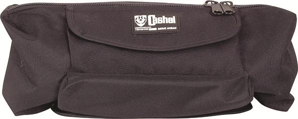 Cantle Bag with Jacket Liner (Blk)