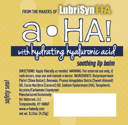 LubriSyn Lip Balm Label