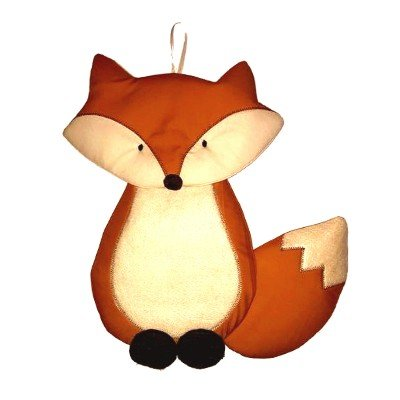 Image 0 of Fox Growth Chart Personalized Kids Fabric Art Designs Decor Growth Charts