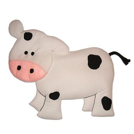 Image 0 of Cow Growth Chart Personalized Kids Fabric Art Designs Decor Growth Charts