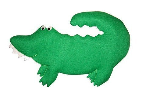 Image 0 of Gator Growth Chart Personalized Kids Fabric Art Designs Decor Growth Charts