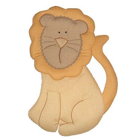 Image 0 of Lion Growth Chart Personalized Kids Fabric Art Designs Decor Growth Charts