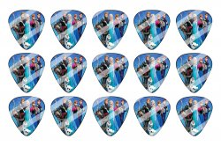 Disney Frozen Guitar Pick Images Sheet #DF1 (instant download or pre cut)
