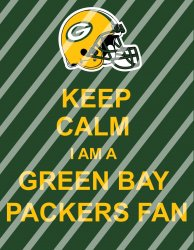 Green Bay Packers Keep Calm Wall Decor Sign (digital or shipped)