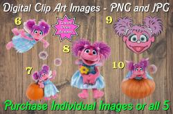 Abby Cadabby Digital Clip Art Images #6-10