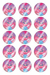 Abby Cadabby Bottle Cap 1 Circle Images Sheet #A13 instant download or pre cut
