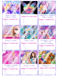 '.Barbie Valentines Day Cards #2.'