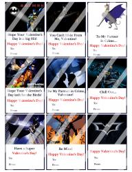 '.Batman Valentines Day Cards #2.'