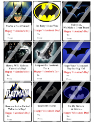 '.Batman Valentines Day Cards #5.'