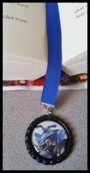 4 Wheeler Quad Bottle Cap Bookmark #A11 (choose image, ribbon and cap color)