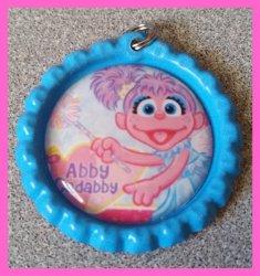 Abby Cadabby Bottle Cap Charm #B13 (choose image and bottle cap color)