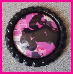 4 Wheeler Quad Bottle Cap Magnet #A7 (choose image and bottle cap color)