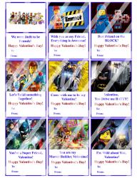 '.The Lego Movie Valentines #1.'