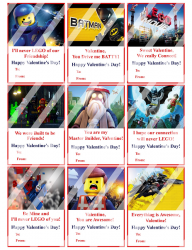 '.The Lego Movie Valentines #2.'