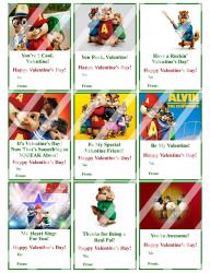 '.Alvin Chimpunks Valentines #2.'