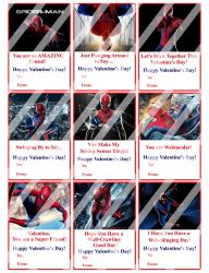 '.Spiderman Valentines #1.'