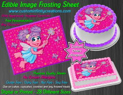 Abby Cadabby Edible Image Icing Frosting Sheet #2 Cake Cupcake Cookie Topper