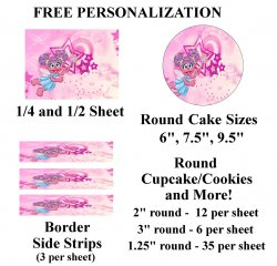 Abby Cadabby Edible Image Frosting Sheet #11 (different sizes)