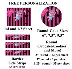 Abby Cadabby Edible Image Frosting Sheet #12 (different sizes)