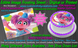 Abby Cadabby Edible Image Icing Frosting Sheet #15 Cake Cupcake Cookie Topper