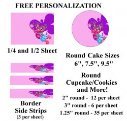 Abby Cadabby Edible Image Frosting Sheet #21 (different sizes)
