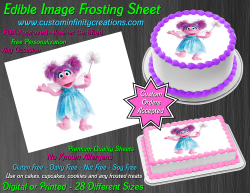 Abby Cadabby Edible Image Icing Frosting Sheet #22 Cake Cupcake Cookie Topper