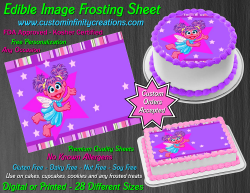 Abby Cadabby Edible Image Icing Frosting Sheet #26 Cake Cupcake Cookie Topper