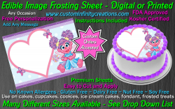 Abby Cadabby Edible Image Icing Frosting Sheet #27 Cake Cupcake Cookie Topper