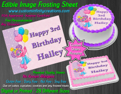 Abby Cadabby Edible Image Icing Frosting Sheet #30 Cake Cupcake Cookie Topper