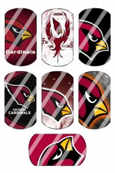 Arizona Cardinals Standard Dog Tag Images Sheet #2 (instant download or pre cut)