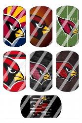 Arizona Cardinals Standard Dog Tag Images Sheet #4 (instant download or pre cut)
