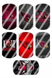 Arizona Cardinals Standard Dog Tag Images Sheet #5 (instant download or pre cut)