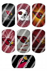 Arizona Cardinals Standard Dog Tag Images Sheet #6 (instant download or pre cut)