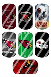 Arizona Cardinals Standard Dog Tag Images Sheet #7 (instant download or pre cut)