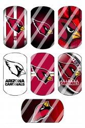 Arizona Cardinals Standard Dog Tag Images Sheet #8 (instant download or pre cut)