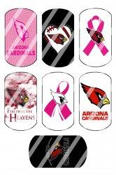 Arizona Cardinals Standard Dog Tag Images Sheet #9 (instant download or pre cut)