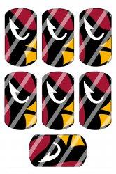 Arizona Cardinals Standard Dog Tag Images Sheet #A1 (instant download or precut)