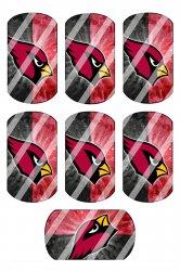 Arizona Cardinals Standard Dog Tag Images Sheet #A2 (instant download or precut)