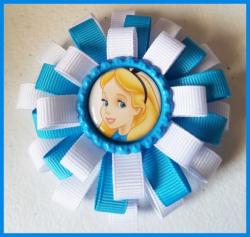 '.Disney Frozen Hair Bow #C11.'
