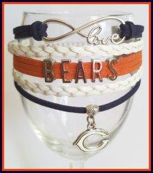 '.Bears Infinity Wrap Bracelet.'