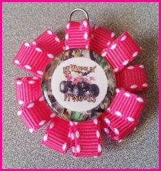 4 Wheeler Quad Ribbon Charm #B1 (choose image and ribbon color)