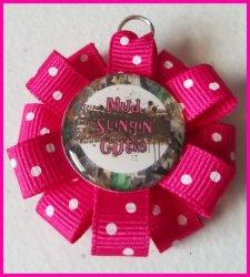 4 Wheeler Quad Ribbon Charm #B2 (choose image and ribbon color)