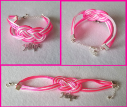 '.Breast Cancer Hope Bracelet.'