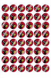 Arizona Cardinals Digital 14mm Circle Images #A1 (instant download)