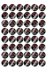 Arizona Cardinals Digital 14mm Circle Images #A14 (instant download)