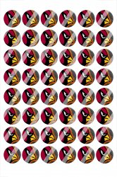 Arizona Cardinals Digital 14mm Circle Images #A15 (instant download)